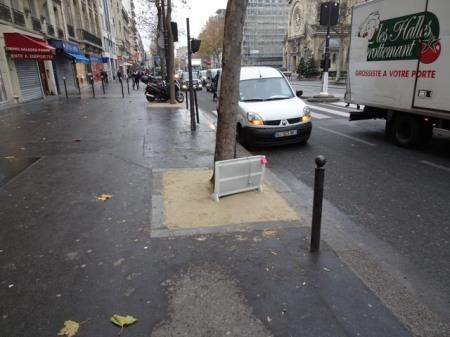chauffer rue